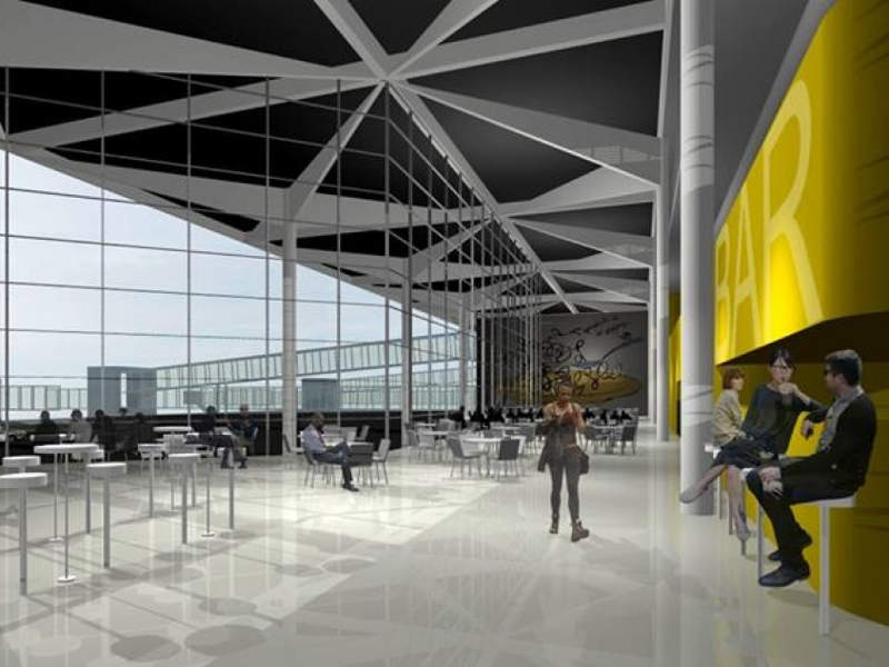 The new terminal building can cater up to 400 passengers. Credit: Municipality of Rosario.
