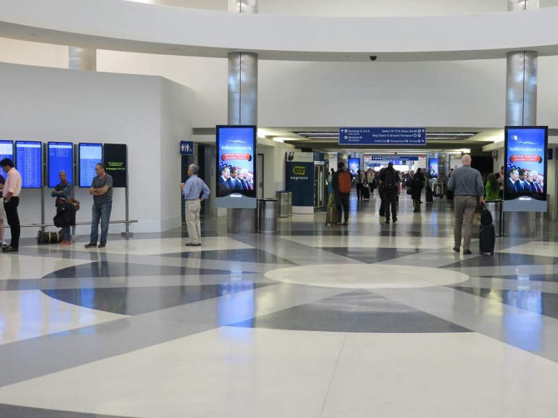 Work on a $573 million renovation of Terminals 7/8 i in progress. Credit: Los Angeles World Airports.
