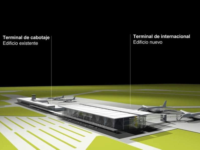 Rosario International Airport covers a total area of 534ha. Credit: Municipality of Rosario.