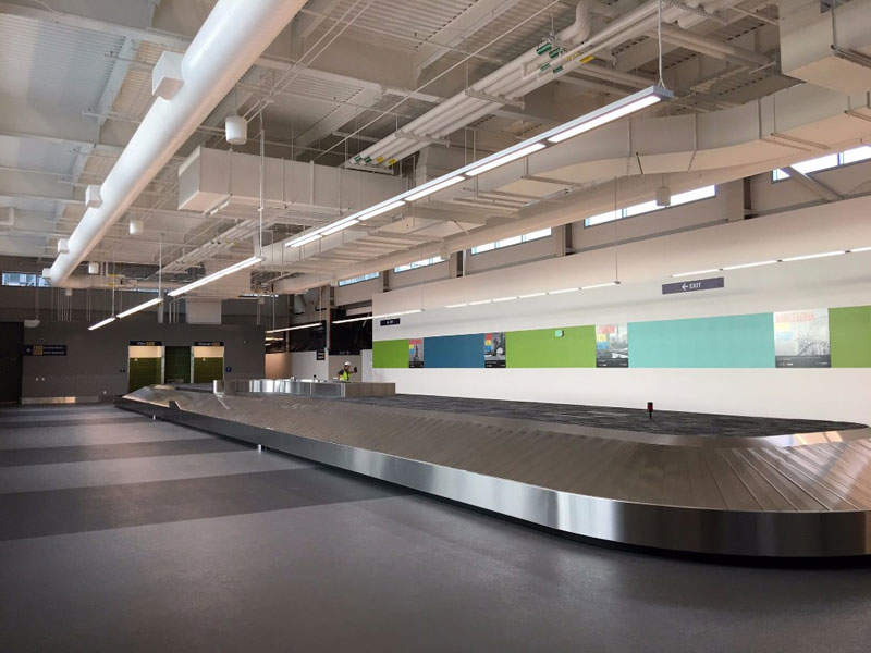 The expanded IAB facility can cater to 600 passengers an hour. Credit: Oakland International Airport.