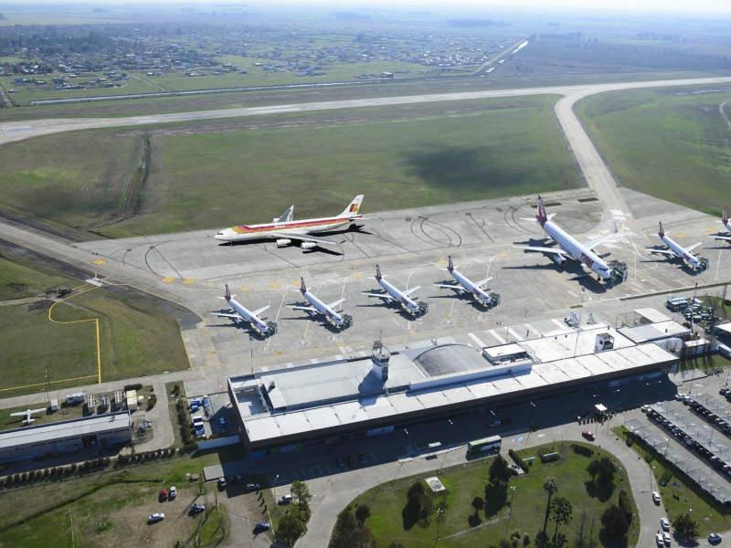 Rosario International Airport is located in Santa Fe Province of Argentina. Credit: Scheridon.