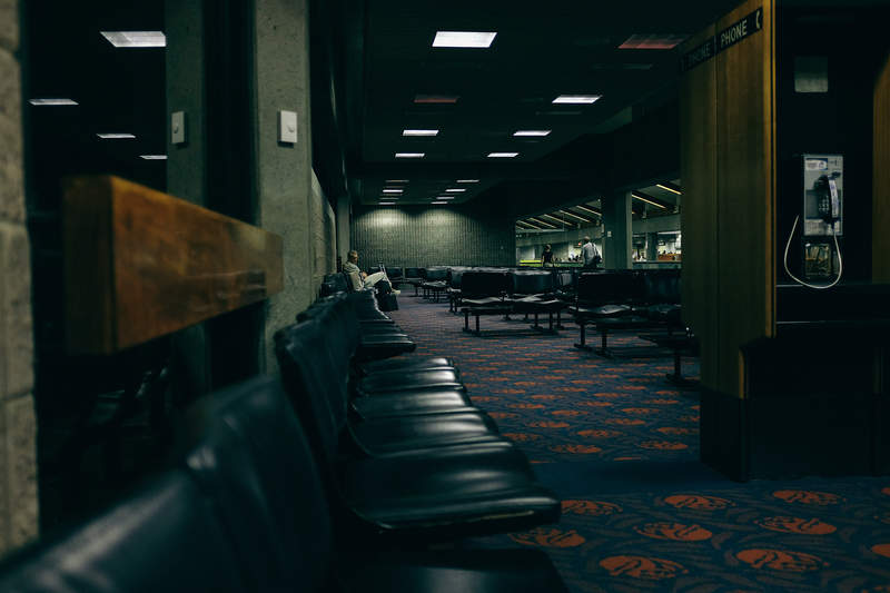 Human trafficking airport