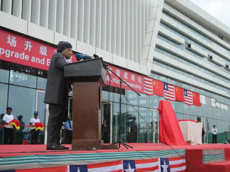 A new passenger terminal building at Roberts International Airport was opened in December 2017. Credit: Ministry of State for Presidential Affairs, Liberia.