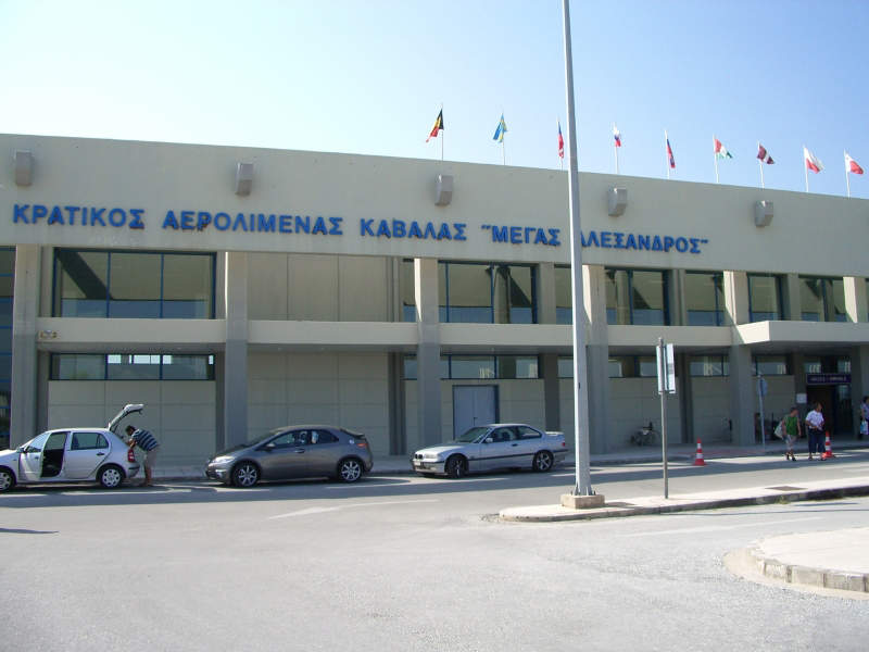Kavala International Airport is located approximately 32km away from the city of Kavala, Greece. Credit: Sakis79 / WikiCommons.