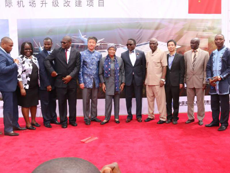 The new passenger terminal project was funded by China Exim Bank. Credit: Ministry of State for Presidential Affairs, Liberia.