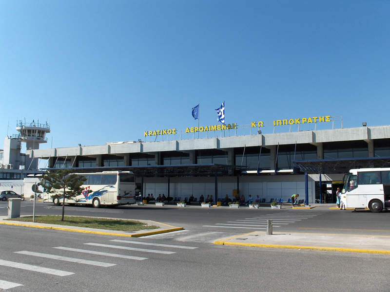 The redevelopment of Kos International Airport includes the construction of a new terminal, security lanes and a fire station. Image courtesy of Steven Fruitsmaak.