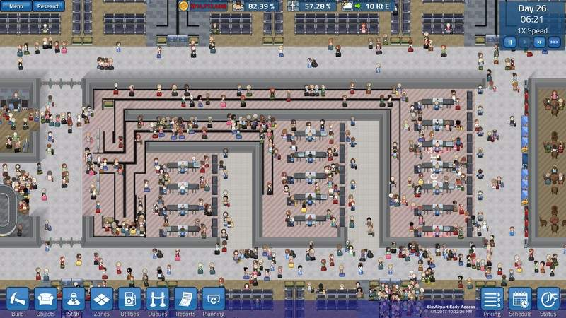 How closely do airport simulation games reflect the industry?