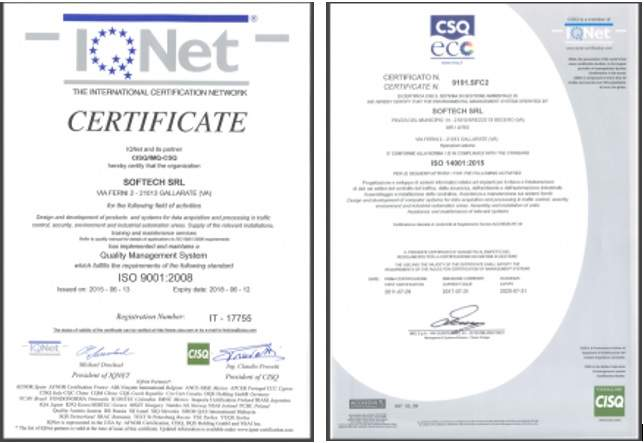 Softech Renews ISO 9001 and ISO 14001 Certifications - Airport ...