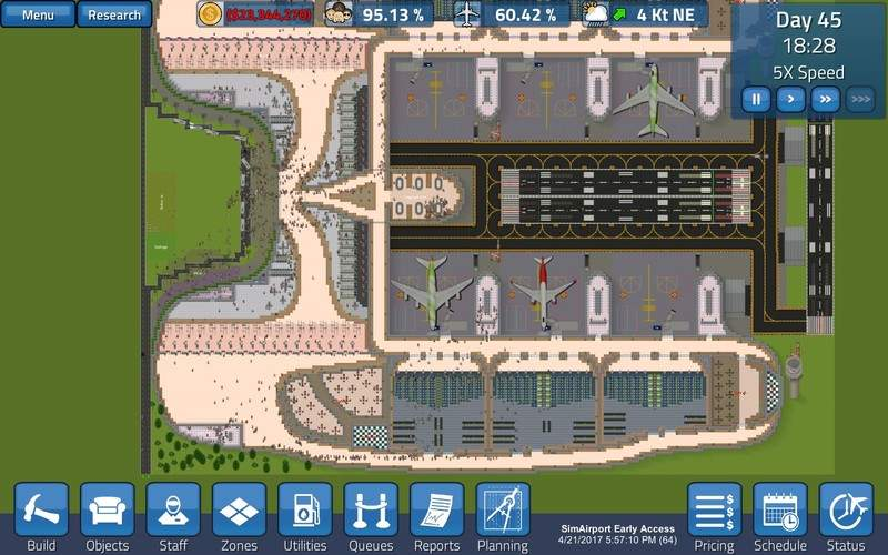 how closely do airport simulation games reflect the