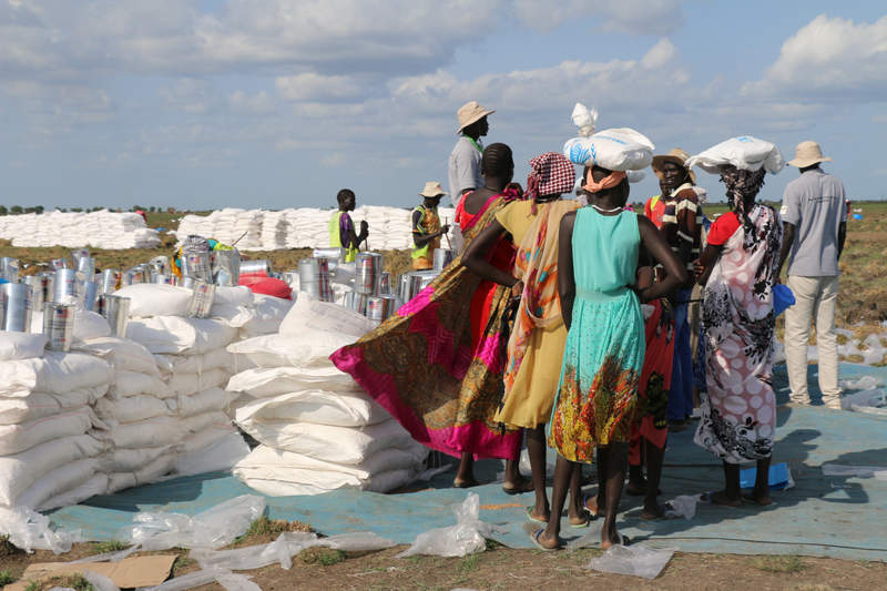 WFP Airdrops in Ganyiel