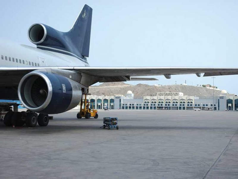 Fujairah International Airport was opened in October 1987. Credit: Adgeco Group.