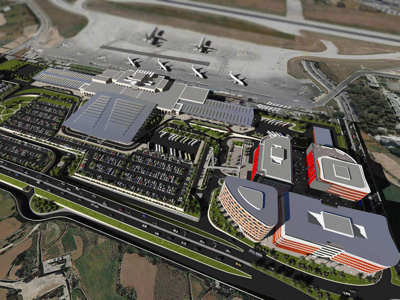 The master plan for the Malta International Airport was approved by the Planning Authority in February 2018. Credit: Planning Authority board of Malta.