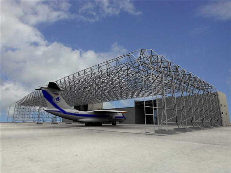 The hangar at Fujairah airport can accommodate wide-body aircraft. Credit: Beer & Associates.