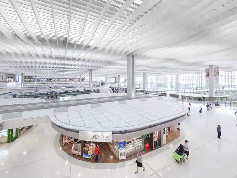 A Sky Bridge is being constructed to connect Terminal 1 with the North Satellite Concourse. Credit: Dorason / Shutterstock.