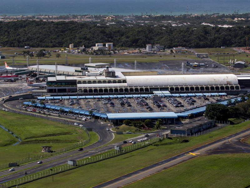 Deputado Luis Eduardo Magalhaes International Airport was opened in 1925. Image courtesy of ME/Portal da Copa.
