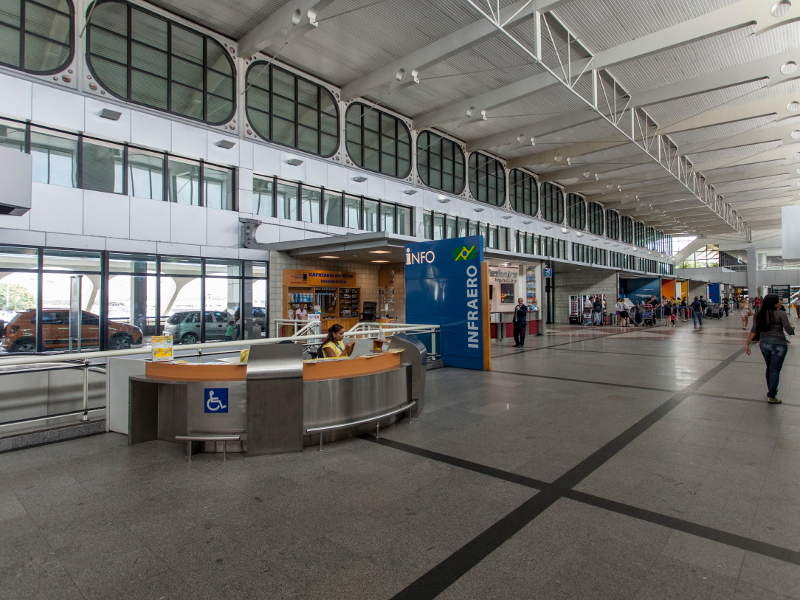 The expansion of Deputado Luis Eduardo Magalhaes International Airport is being undertaken by Vinci Airports. Image courtesy of ME/Portal da Copa.