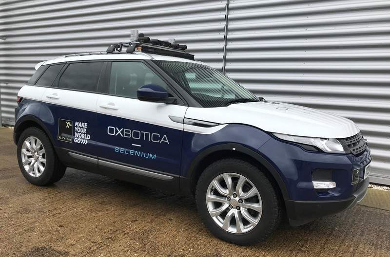 Oxbotica Car
