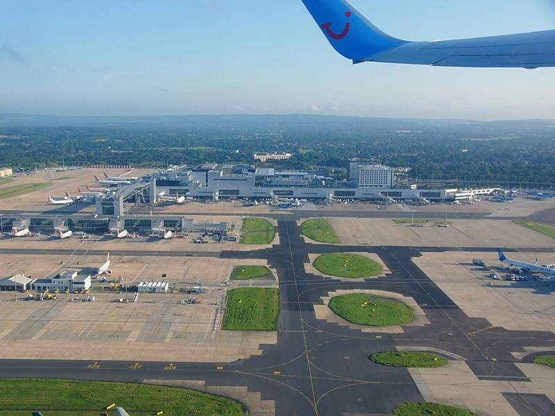 Gatwick Airport environment