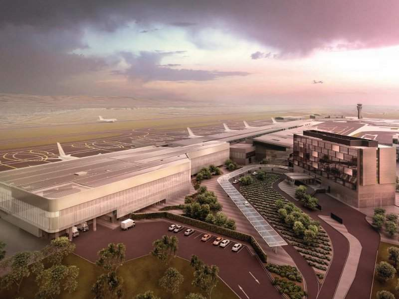 Adelaide International Airport terminal expansion will provide more retail and dining options for passengers. Credit: Adelaide Airport.