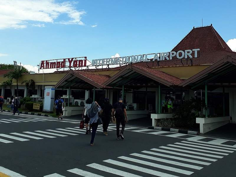 The expansion works at the Ahmad Yani international airport are expected to be completed in 2019. Credit: Davidelit.