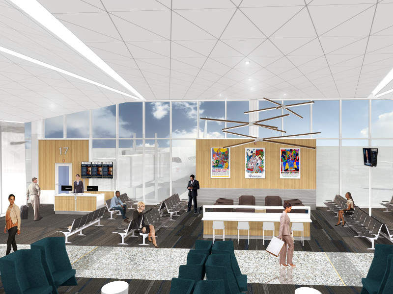 The Memphis International Airport modernisation project is scheduled for completion in 2021. Credit: Memphis International Airport.