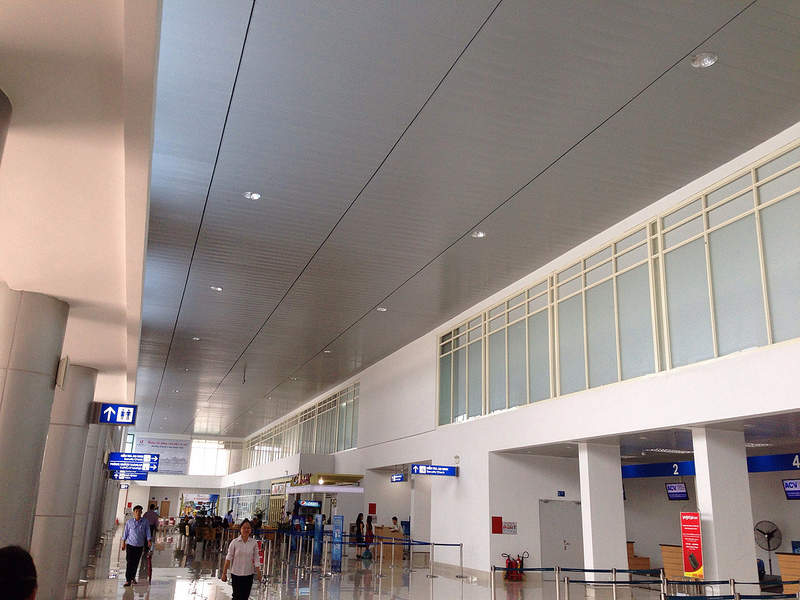 Terminal 1 can process up to 800 passengers an hour during peak hours. Credit: Pham hieu 94.