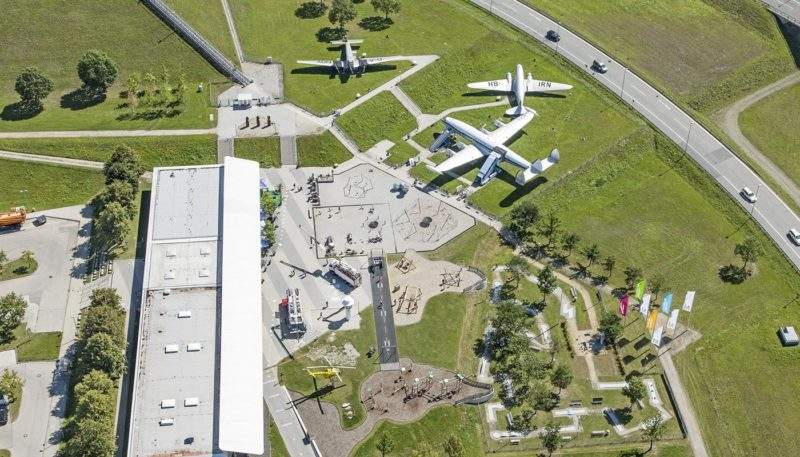 Airport innovation hub