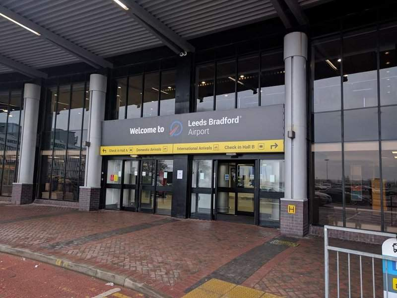 The first phase of redevelopment and expansion works at Leeds Bradford international airport were completed in July 2018. Credit: Leeds Bradford Airport.