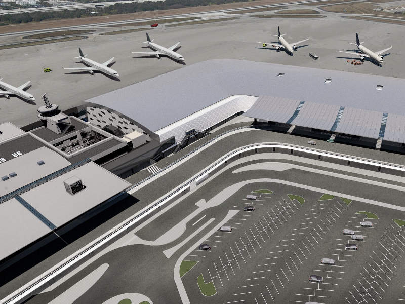 The expansion will include the addition of a new passenger terminal building. Credit: Fraport AG.