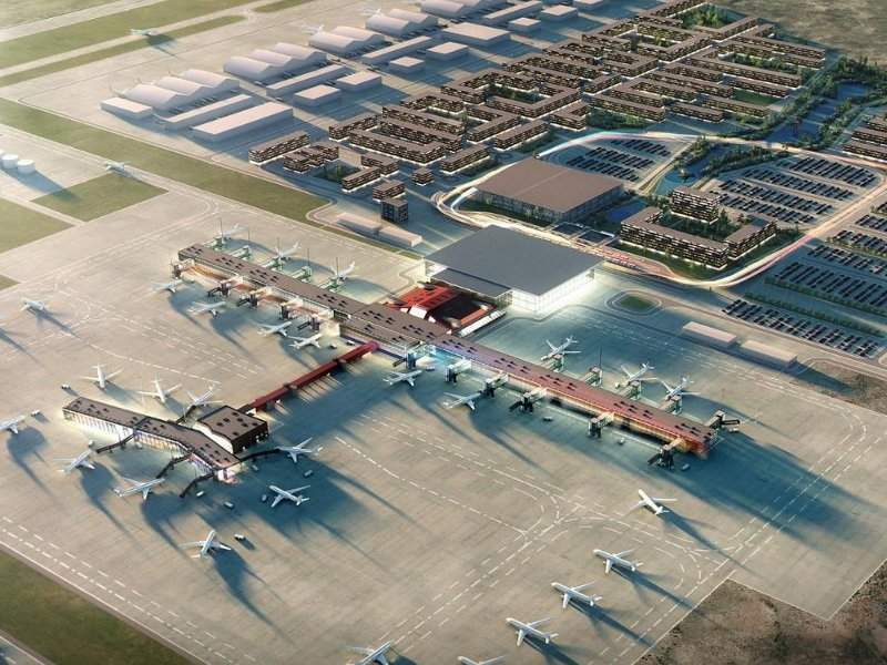 The Keflavik International Airport expansion project will initially include work on the existing terminal building. Credit: ISAVIA.