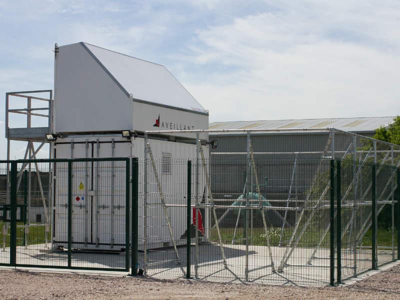 holographic radar airport