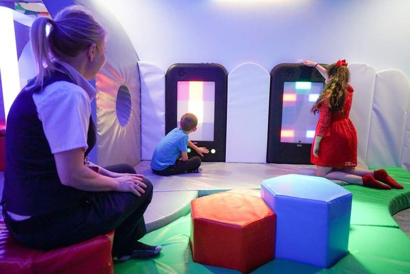 Sensory room in North Terminal