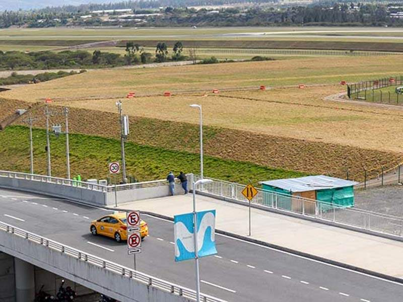 Mariscal Sucre International Airport is undergoing expansion to meet the demands of the increasing passenger traffic. Credit: Quito International Airport.