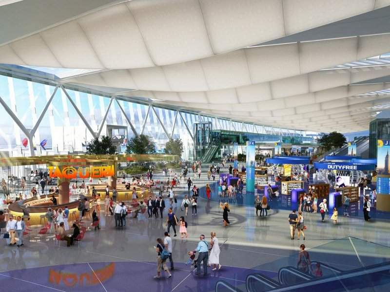 The $13bn redevelopment project will include the addition of two new world-class terminals. Credit: New York State.