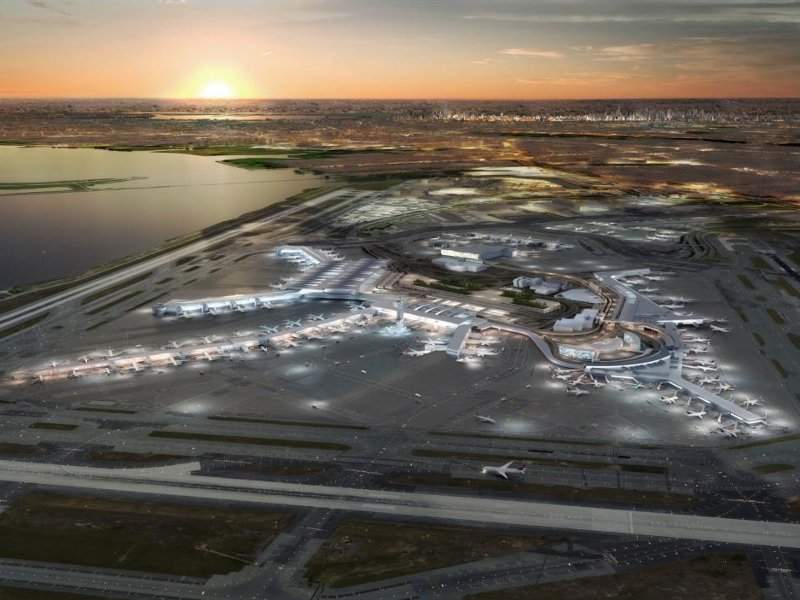 Redevelopment works at JFK International Airport will start in 2020. Credit: New York State.