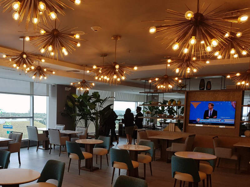 The expansion of international VIP lounge at the airport includes resting areas, food and beverages, and business centre. Credit: Quito International Airport.