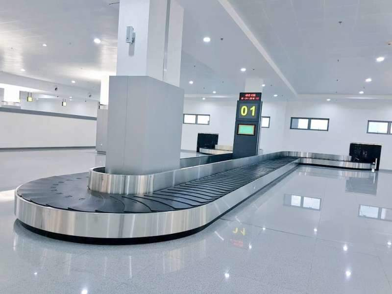 A new passenger terminal was built at the Port Harcourt international airport to meet the growing passenger traffic. Credit: Bashir Ahmad via Twitter.