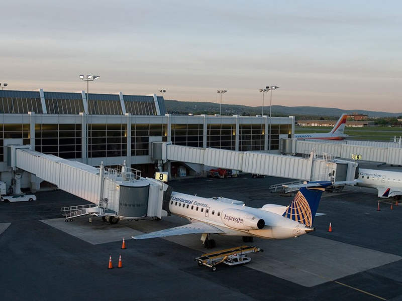 The airport is operated by Lehigh-Northampton Airport Authority. Credit: Lehigh Valley Economic Development Corporation.