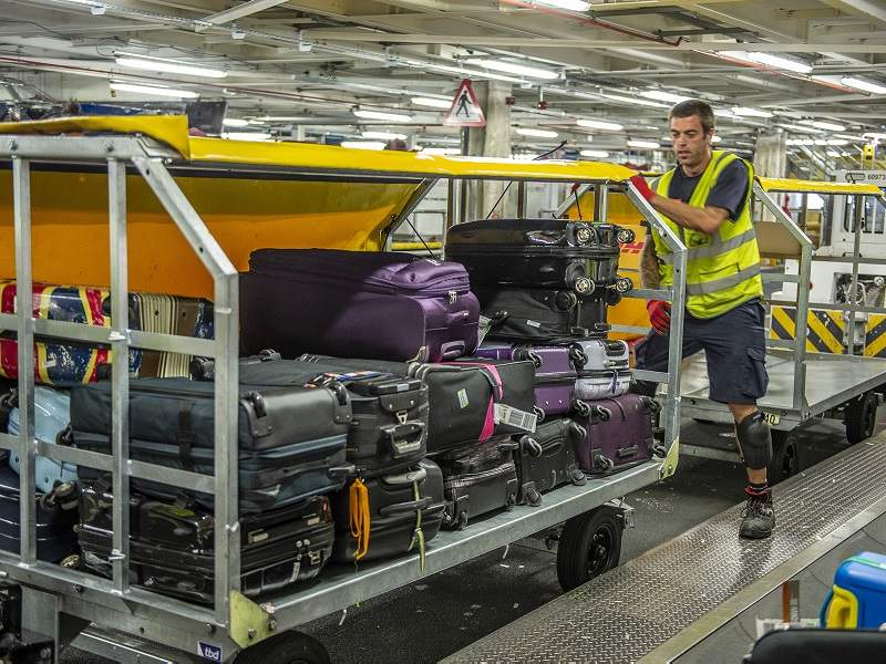 Dhl Gatwick Baggage4 Airport Technology