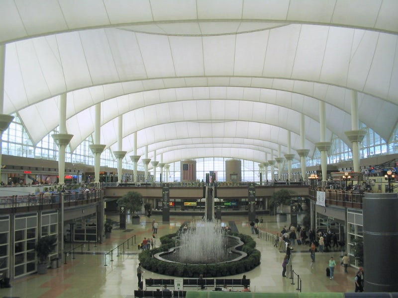 Denver largest airports in america