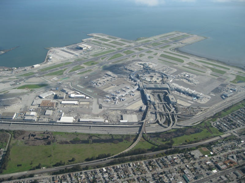 The ten largest airports in America