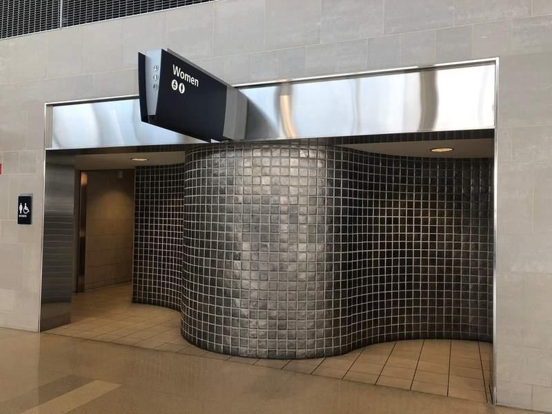 TRAX SmartRestroom Detroit airport