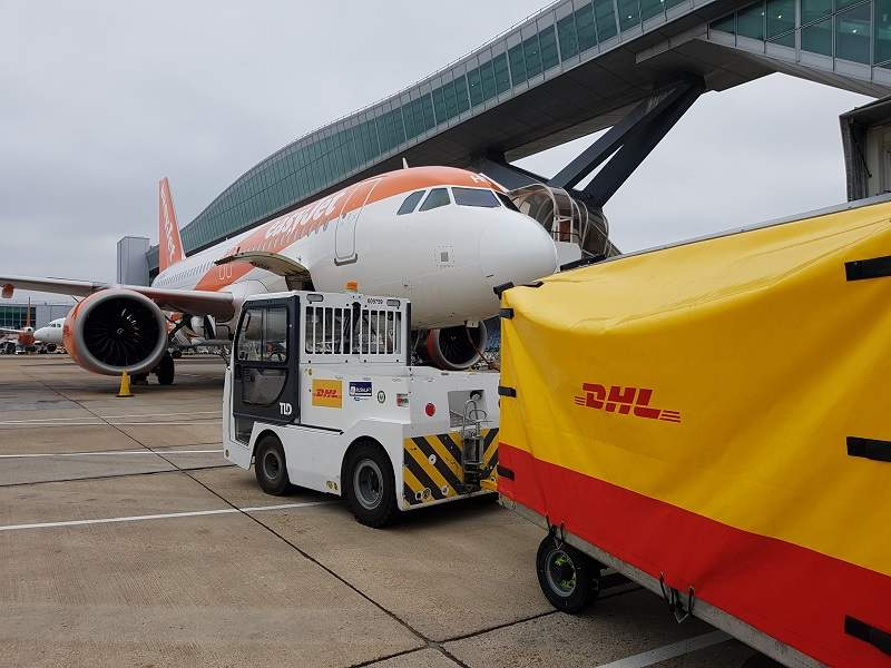 Easyjet And Dhl Airport Technology
