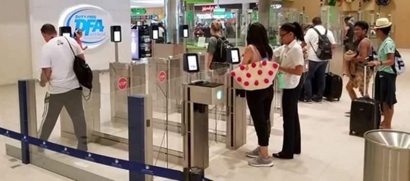 passenger border gates