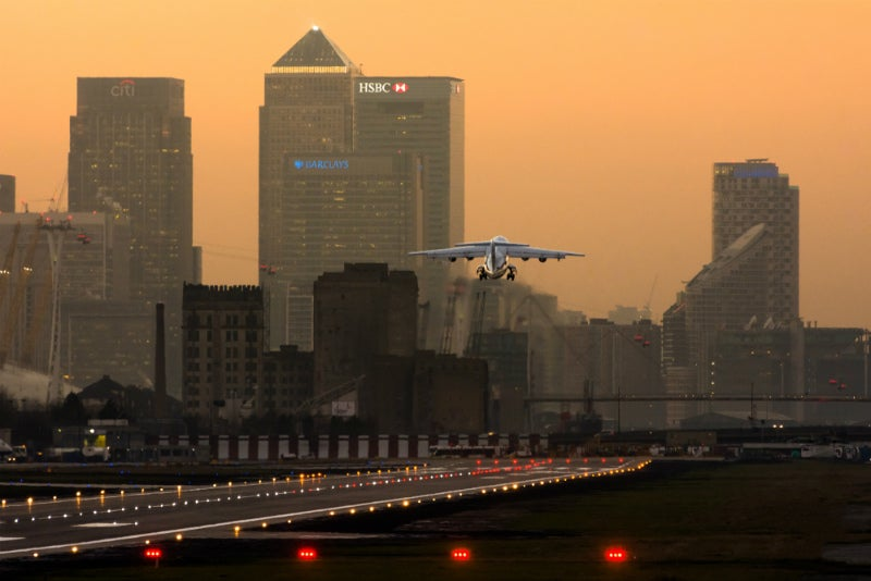 London city airport-ed