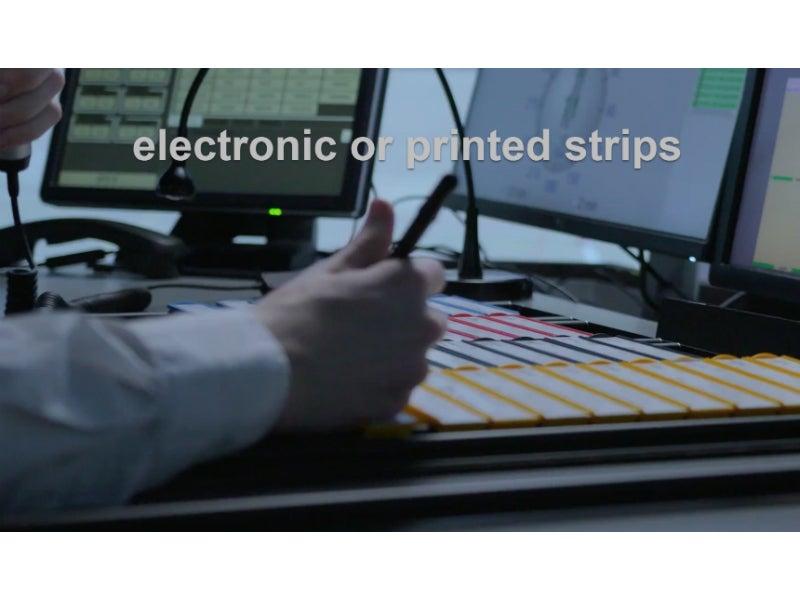 electronic flight progress strips