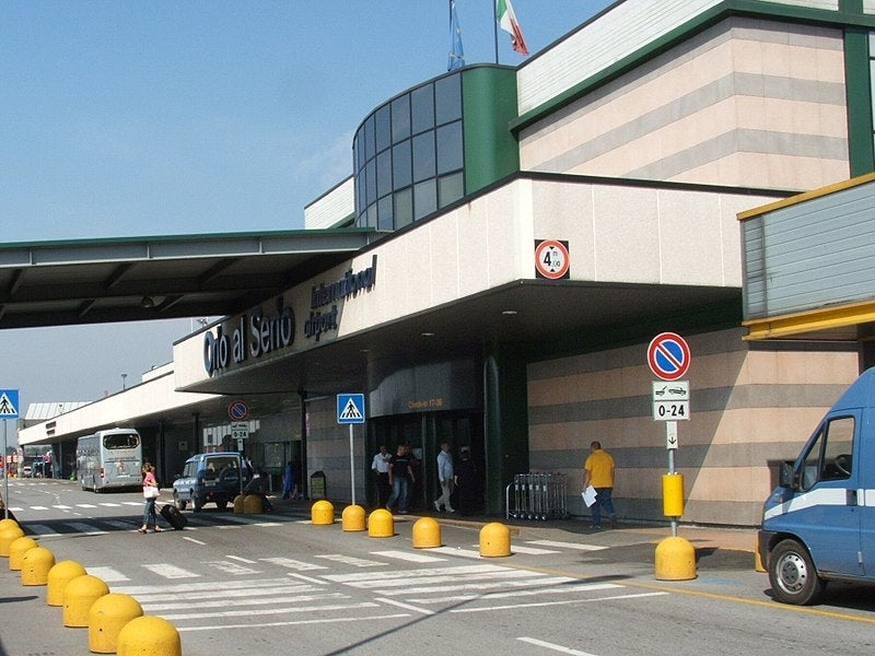 Milan Bergamo International Airport (BGY) is also known as Orio al Serio International Airport. Credit: Luigi Chiesa.