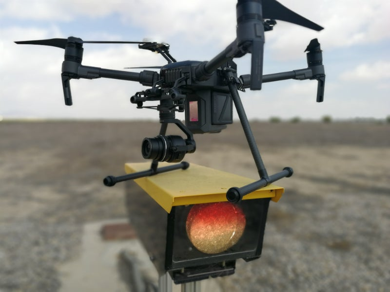 airport inspection drones