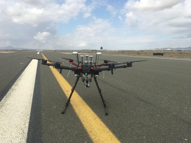 runway remote piloted aircraft