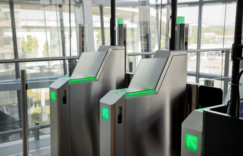 How can AI help speed up airport security?